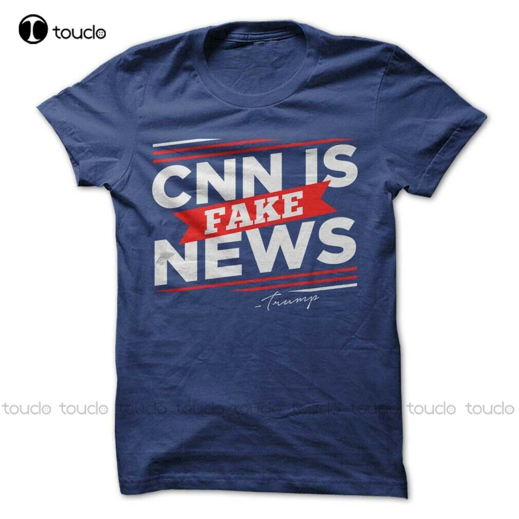 Donald Trump President T-Shirt Cnn Fake News Tee Election Make America Great Unisex Women Men Tee Shirt