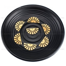10-500 Pcs 귀걸이를 만들기위한 매력 펜던트 구성 요소 하프 썬 세미 서클 매력적인 금속 찾기 재료 온라인 도매