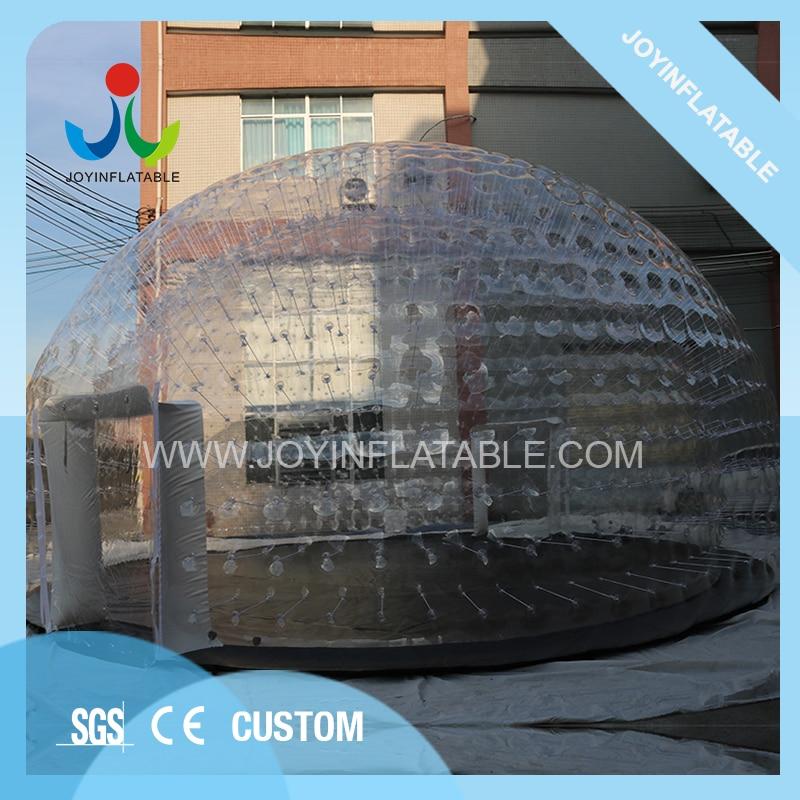 Igloo gonflable clair dabri de grand dôme de diamètre de 10m