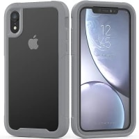 military shock absorption case for iphone 12 11 x xr xs max transparent ultra thin pctpu protective case for iphone 6s 7 8 plus