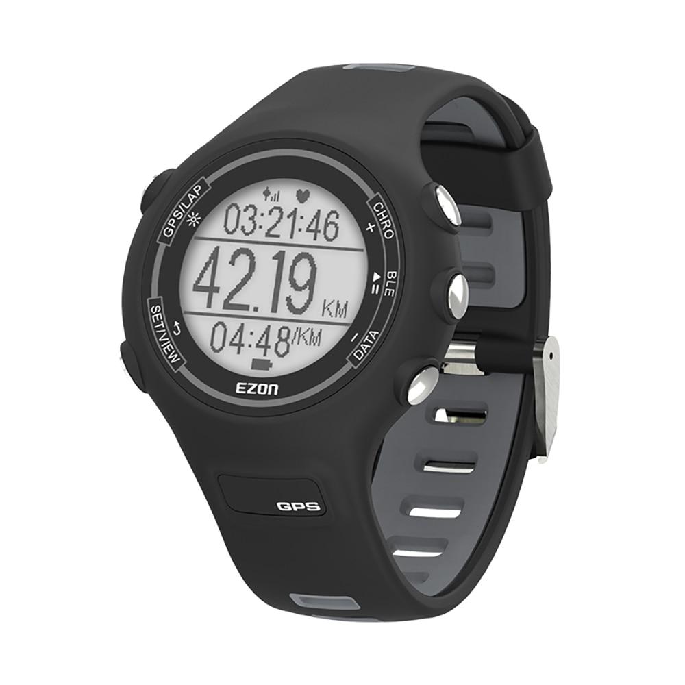 Relógio do Esporte Medidor de Freqüência Alarme à Prova Masculino Moda Cronometragem Faixa Cardíaca Lembrete Inteligente Pedômetro Calorias Conexão App Dwaterproof Água Gps