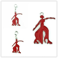 Grego dst fraternidade vermelho fortitude dangler charme para diy moda feminina