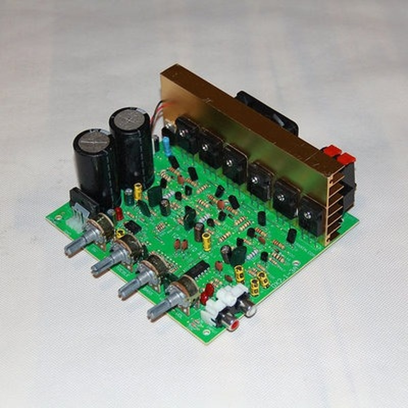 Audio Amplifier Board 2.1 Channel 300W High Power Subwoofer   AMP Dual AC18-24V Home Theater tpa3116 audio amplifier board pbtl single dual channel power amplifier dc 12v 24v amp
