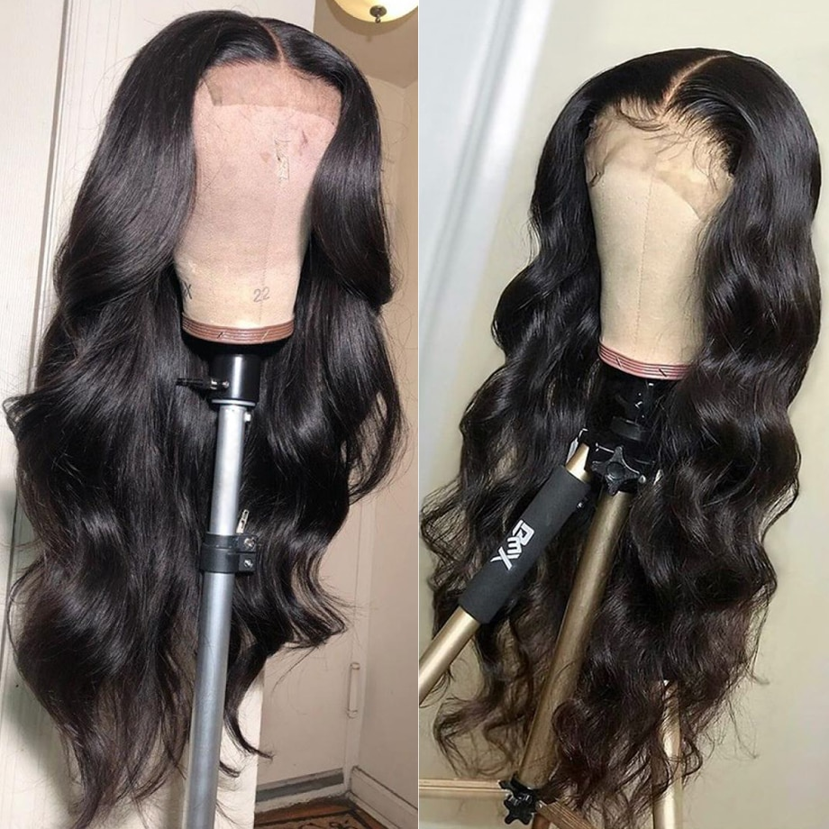 13x4 Body Wave Lace Front Wig Hd Transparent Full Lace Front Human Hair Wigs Brazilian For Black Wom
