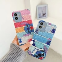 2021 disney stitch for iphone 78 plus xxs xr xsmax 11pro max kawayi coupe phone case