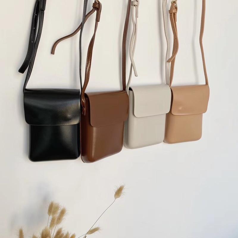 Tamara Women Bags Ladies Shoulder Bag PU Leather Vintage Mini Crossbody Phone Bag Purse Korean Style Youth Chic Bag Whole Sale
