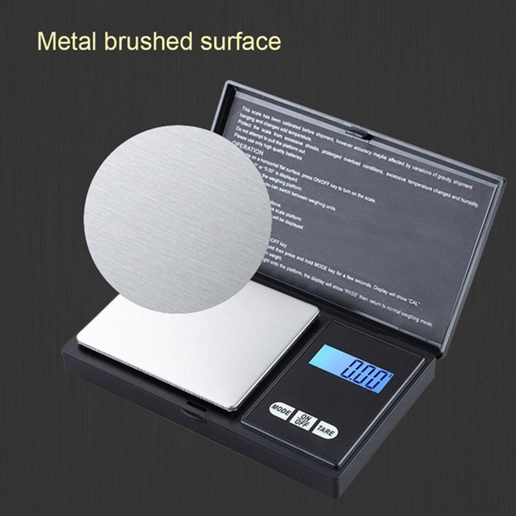 50g x 0,01g Mini Digital Waage Schmuck Gold Kraut Balance Gewicht Gramm LCD Tasche