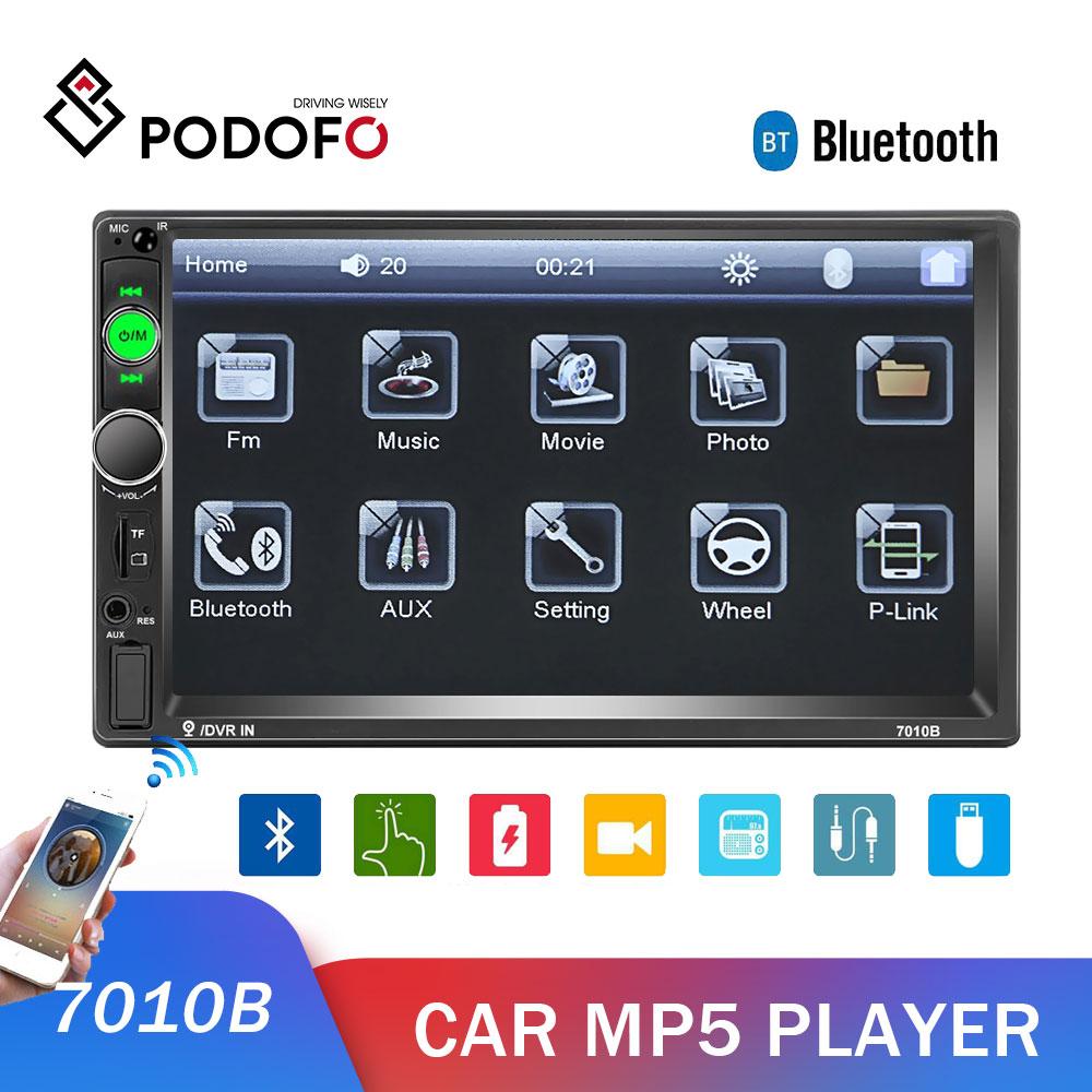 Podofo Car Radio 2din Android Mirrorlink Bluetooth Fm Car Multimedia Player 2din For Volkswagen Nissan Hyundai Toyotoa Autoradio Car Multimedia Player Aliexpress