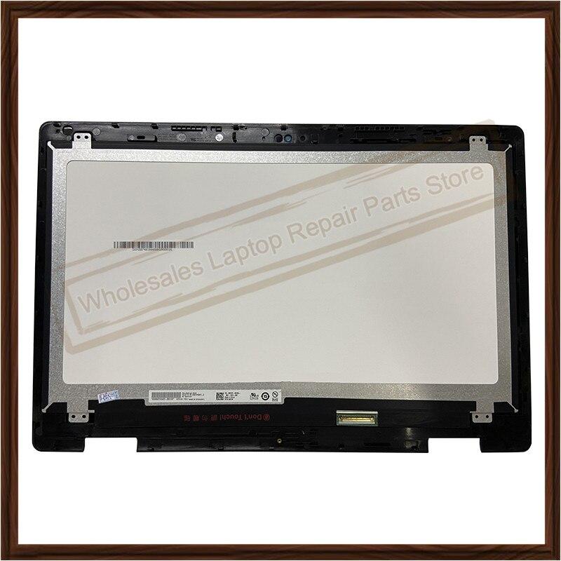 شاشة lcd تعمل باللمس مع لوحة زجاجية لجهاز Dell Inspiron 15 ، 15.6 ، 5568 ، 5578 ، P58F ، P58F001 ، B156HAB01.0 ، 5579
