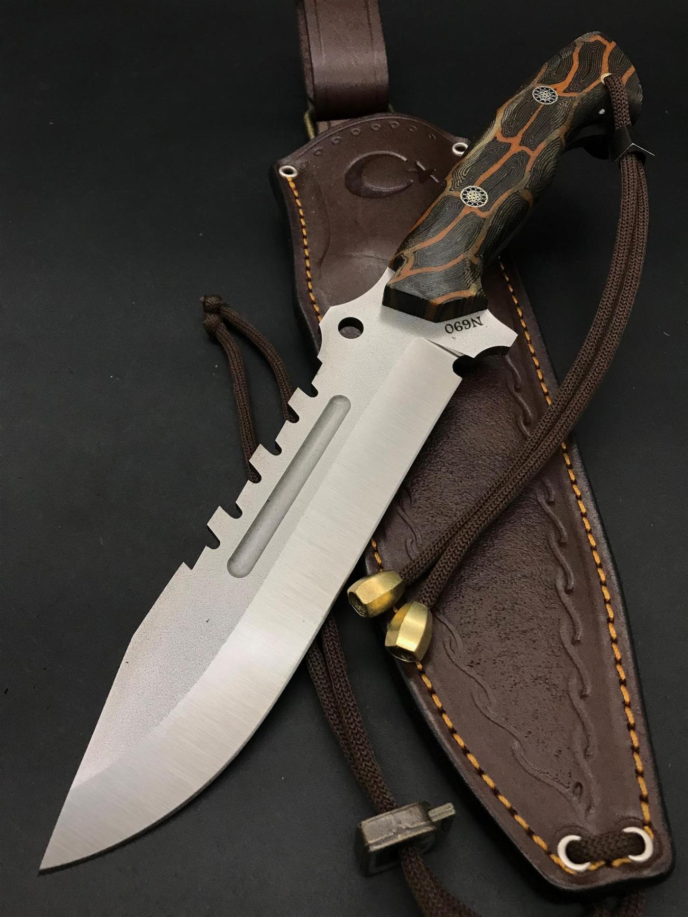 BOHLER N690 Special Design Camping Knife TK16