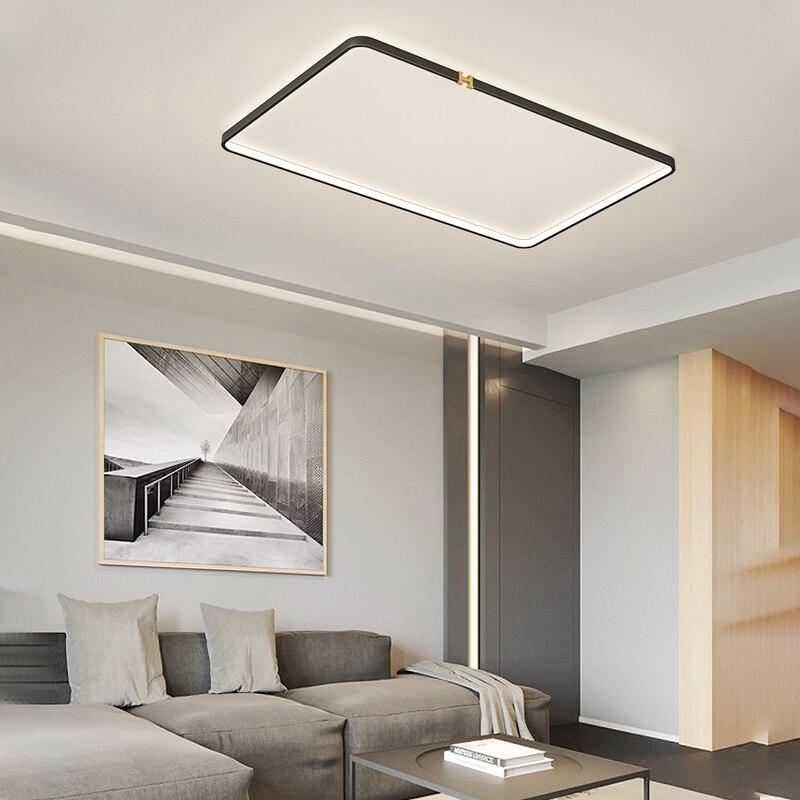 ليكان جديد وصول LED أضواء السقف لغرفة المعيشة غرفة نوم بريق دي plafond مستديرة مربع led مصباح السقف للاستخدام المنزلي