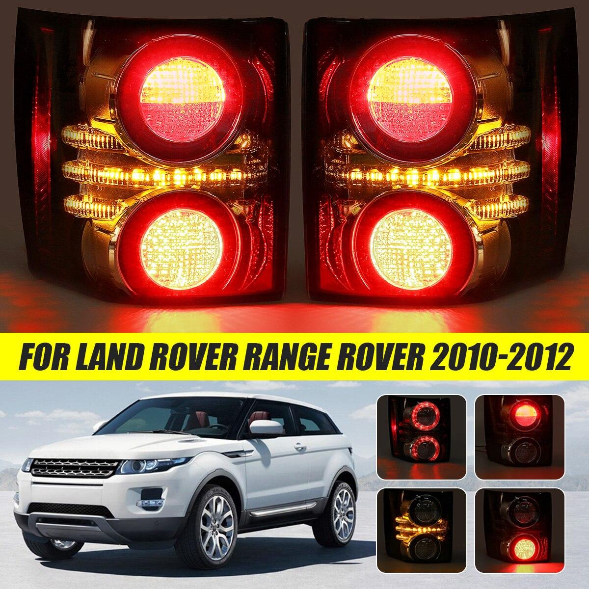 Luz trasera de coche para Land Rover Range Rover 2010 2011 2012, faro antiniebla de freno trasero de humo, accesorios Drl LR031756