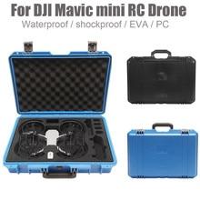 Ouhaobin, para DJI Mavic, Mini Dron, seguridad protectora, militar, especificación, caja de almacenamiento a prueba de agua, resistente a impactos, Maleta 1122 #2