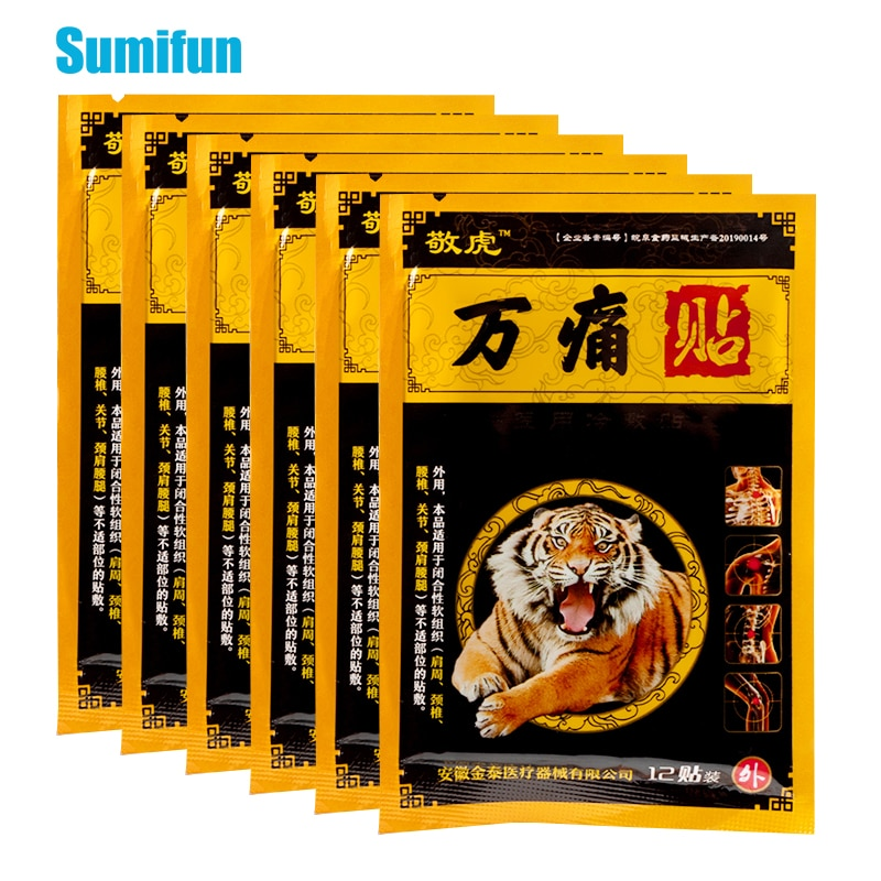 hans georg schaible pain in osteoarthritis 36pcs Tiger Balm Patches Osteoarthritis Pain Relief Plaster Herbal Plaster For Shoulder Muscle Relief Body Relaxation