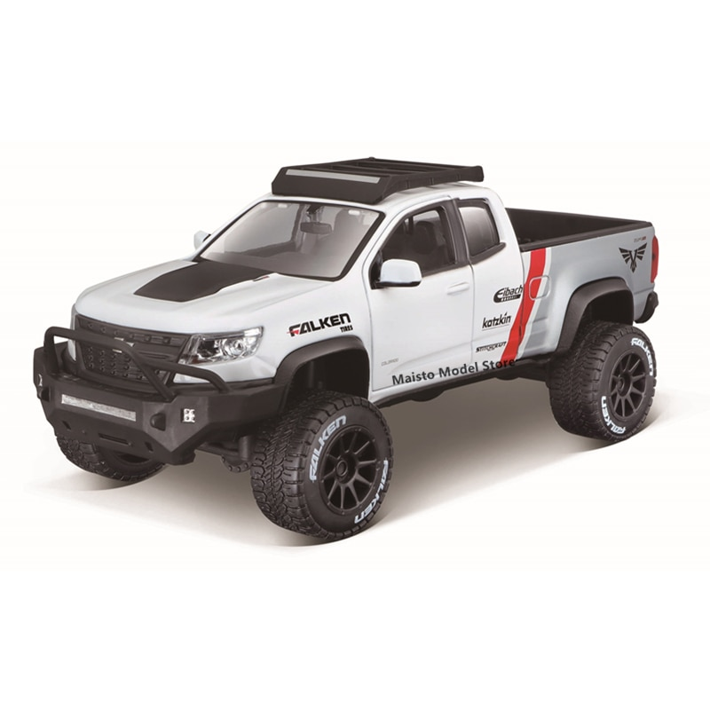 Maisto 1:24 OFF-Road Series 2017 Chevrolet Colorado ZR2 Highly-detailed die-cast precision model car Model collection gift