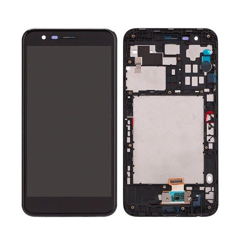 Pantalla táctil LCD para LG k10 2018 K11, para LG K30 X410 LM 410, ensamblaje digitalizador LCD con marco de 5,3 pulgadas, envío gratis