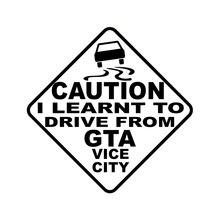 Jouer COOL prudence jai appris à conduire de GTA VICE ville voiture autocollant Automobiles motos accessoires extérieurs vinyle décalcomanies
