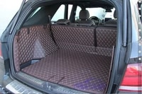 customized full covered special car trunk mats for mercedes benz gle 63 2017 2015 durable cargo rugs boot carpets for gle63