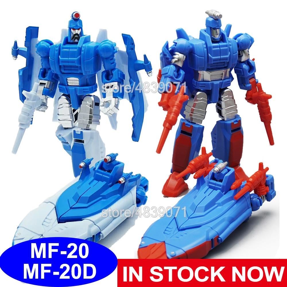 Figuras de acción de juguete MFT, MF20 MF20D, pequeña proporción, estropajos recubiertos de Metal, detención, Cosmos Catcher, deformación, transformación