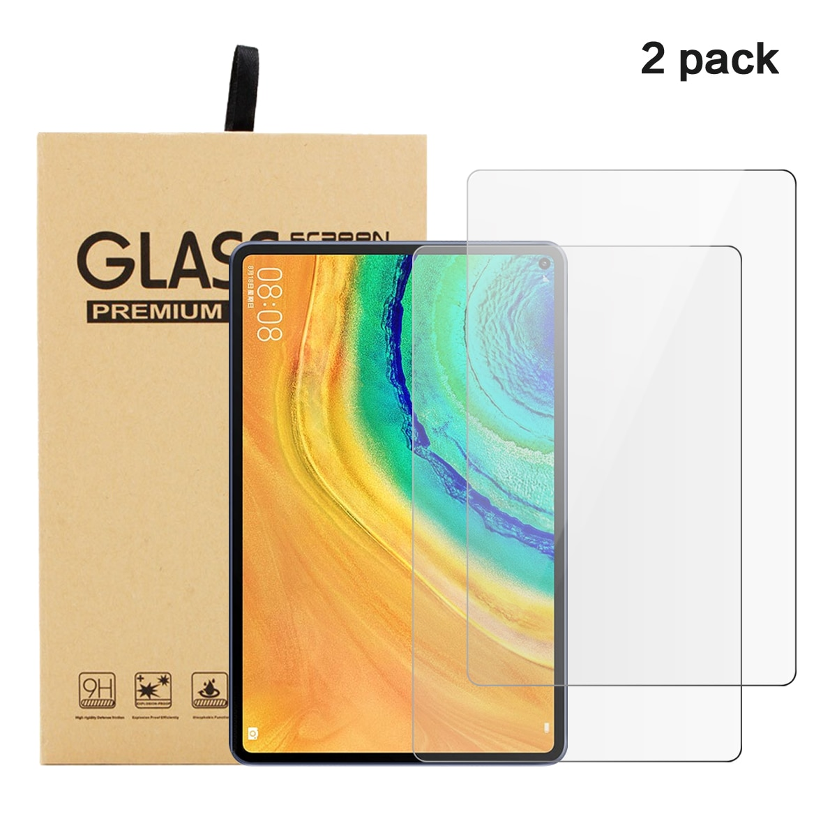 Película protetora para huawei matepad pro 10.8 5g 2020 portátil notebook protetor de tela para huawei matepad pro 10.8 tela vidro