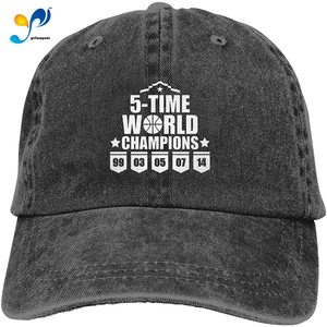 5 Time World Champions Unisex Soft Casquette Cap Fashion Hat Vintage Adjustable Baseball Caps