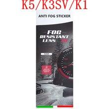 K5 мотоциклетный шлем противотуманная пленка для K5 K3SV K1 шлемы козырек противотуманная наклейка полное лицо мотоциклетный шлем аксессуары и запчасти