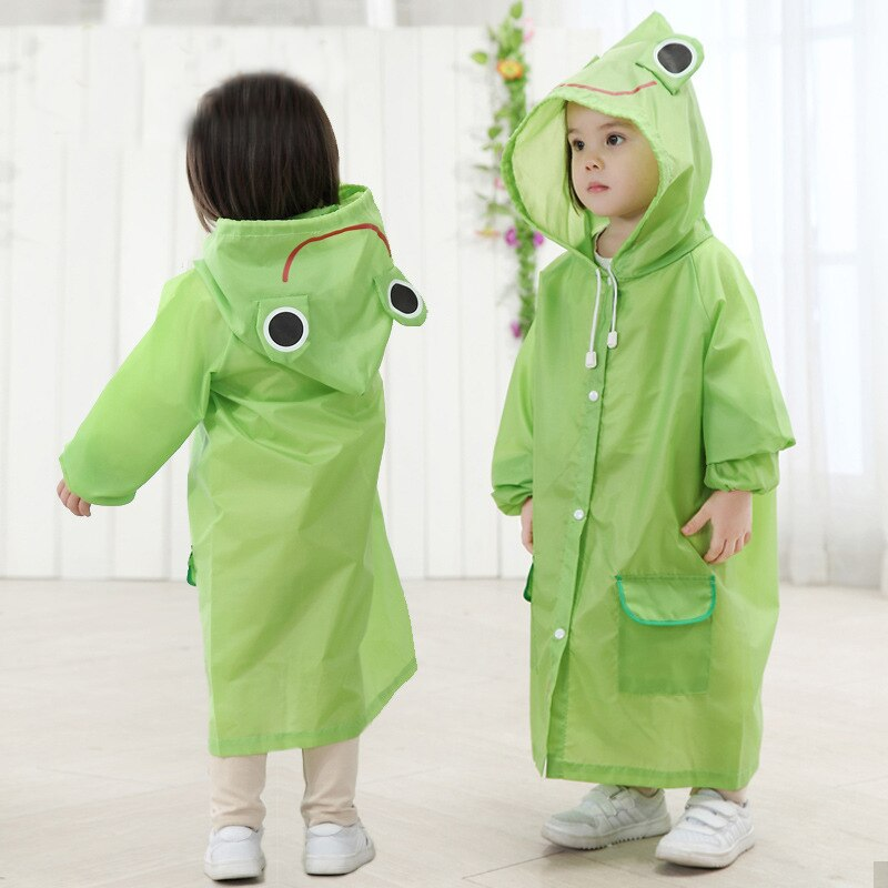 Дождевик Детский водонепроницаемый в стиле мультяшных животных, дождевик детский, дождевик для детей, дождевик детский