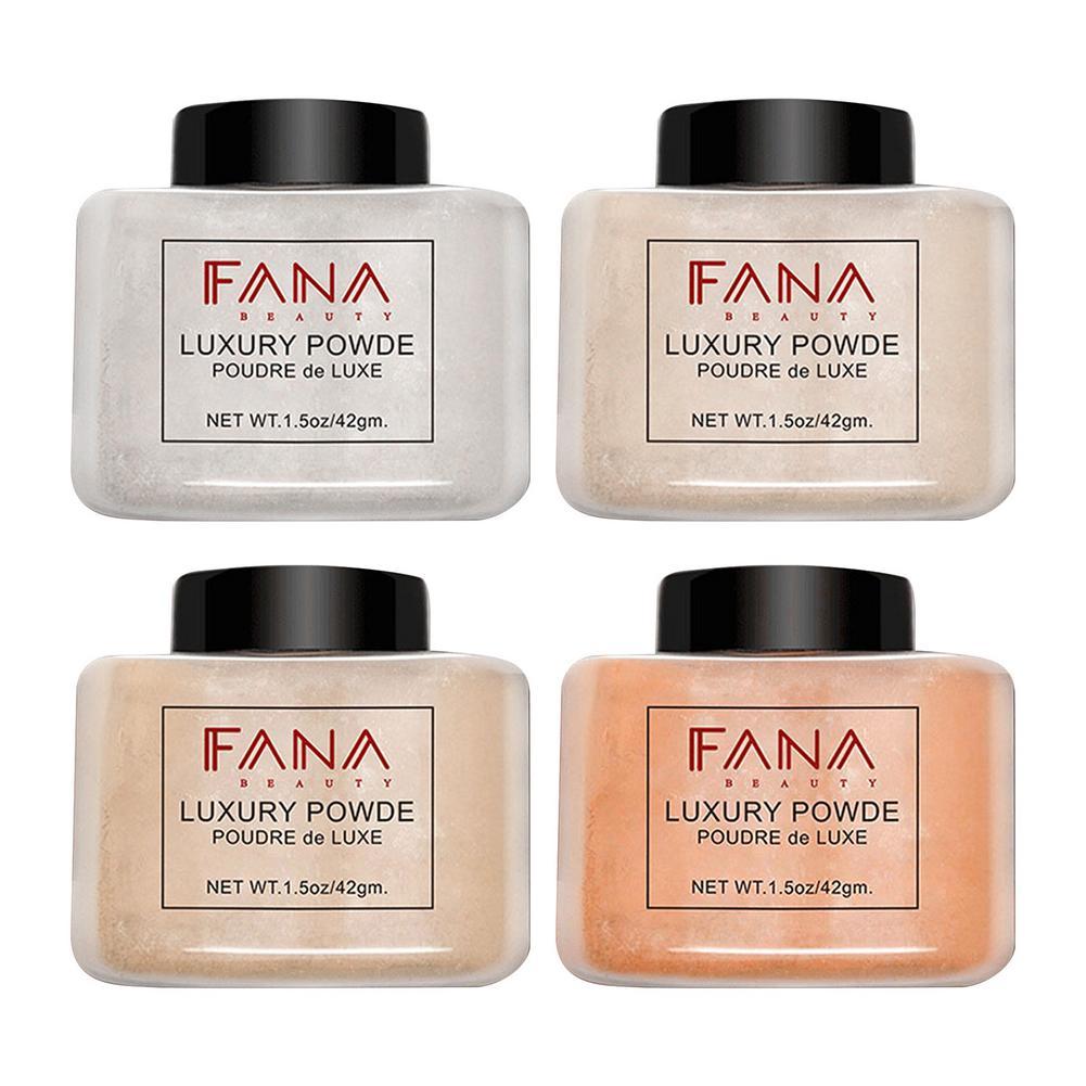 Loose Powder Makeup Waterproof Setting Powder Concealer Oil Control Face Powder Natural Translucent Finishing Powder Cosmetic