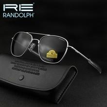 Randolph RE Sunglasses Men Woman Brand Designer Vintage American Army Military Sun Glasses Aviation