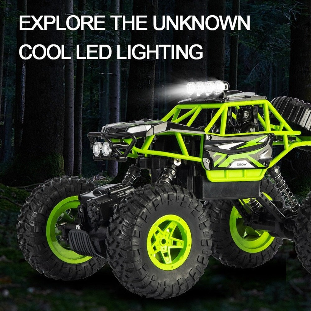 Rc Product Off-road Four-wheel Drive Racing High-speed Hill Climbing Remote Control Car Remote Control Car Children's Boy Toy