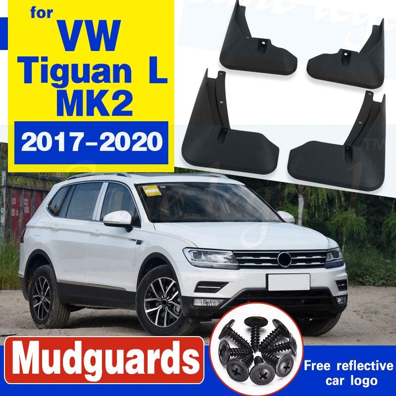 Guardabarros para coche 4 Uds. Para Volkswagen VW Tiguan 5N 2017 2018 2019 2020 MK2 guardabarros
