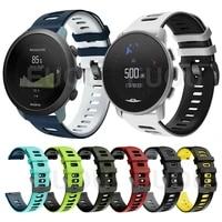 sports silicone strap for suunto 9 peak suunto 3 wrist band watch accessories replaceable belt bracelet watchband