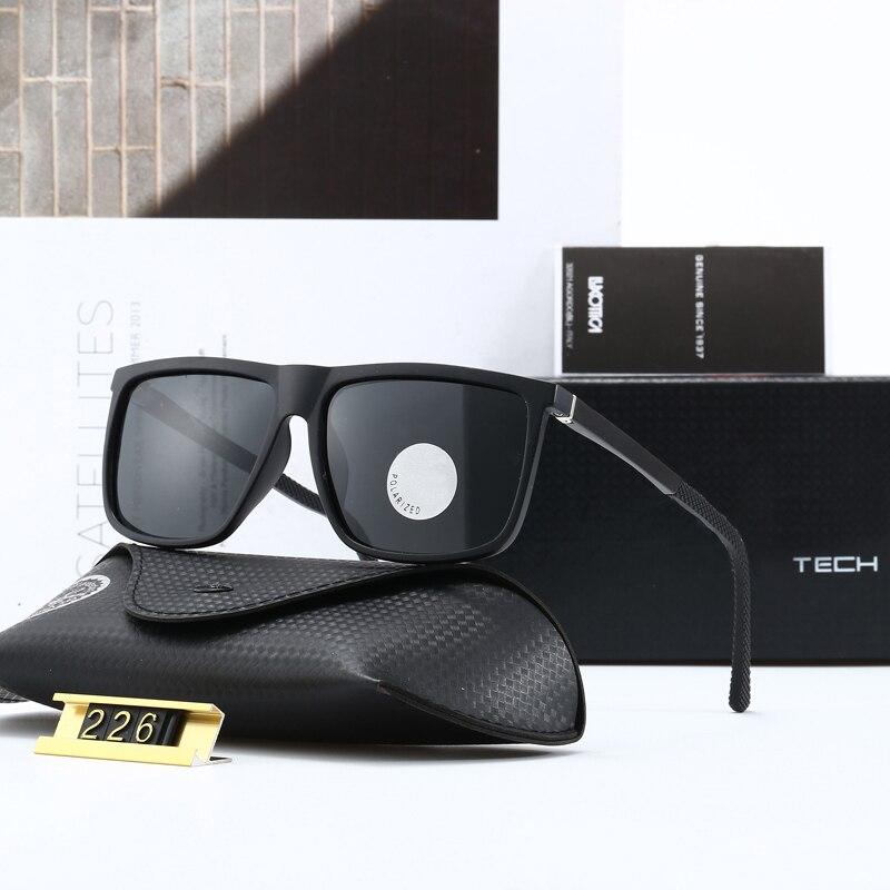 العلامة التجارية الرجال السيدات النظارات الشمسية المستقطب الرجعية مربع نظارات النساء مصمم أزياء الصيد القيادة Gafas دي سول الفقرة hombre