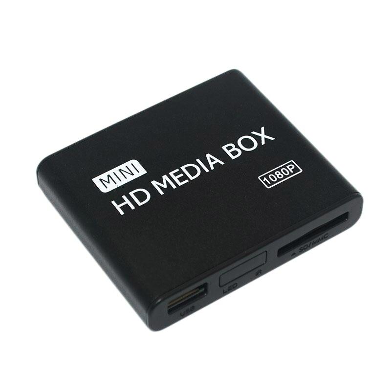 HFES Mini Full HD 1080P Media Player para a TV de Multi Media Player De Vídeo HDD Externo Media Player