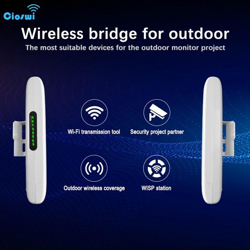 ciswi roteador wi fi sem fio cpe 300mbps antena direcional de alto ganho transmissao