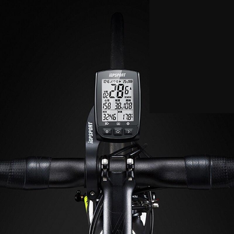 iGS50 iGPSPORT Start The Fastest 5S Positioning Wireless Speedometer iGS50E Bike Odometer 200 Hours Data Storage