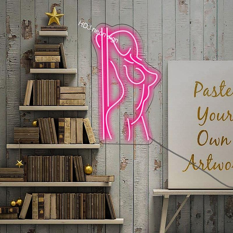 لوحة الجسم نيون مع ضوء LED وشعار حروف أكريليك ، علامات نيون ، للمنزل ، غرفة النوم ، البار ، الحانة ، المتجر ، المكتب ، الديكور الجداري