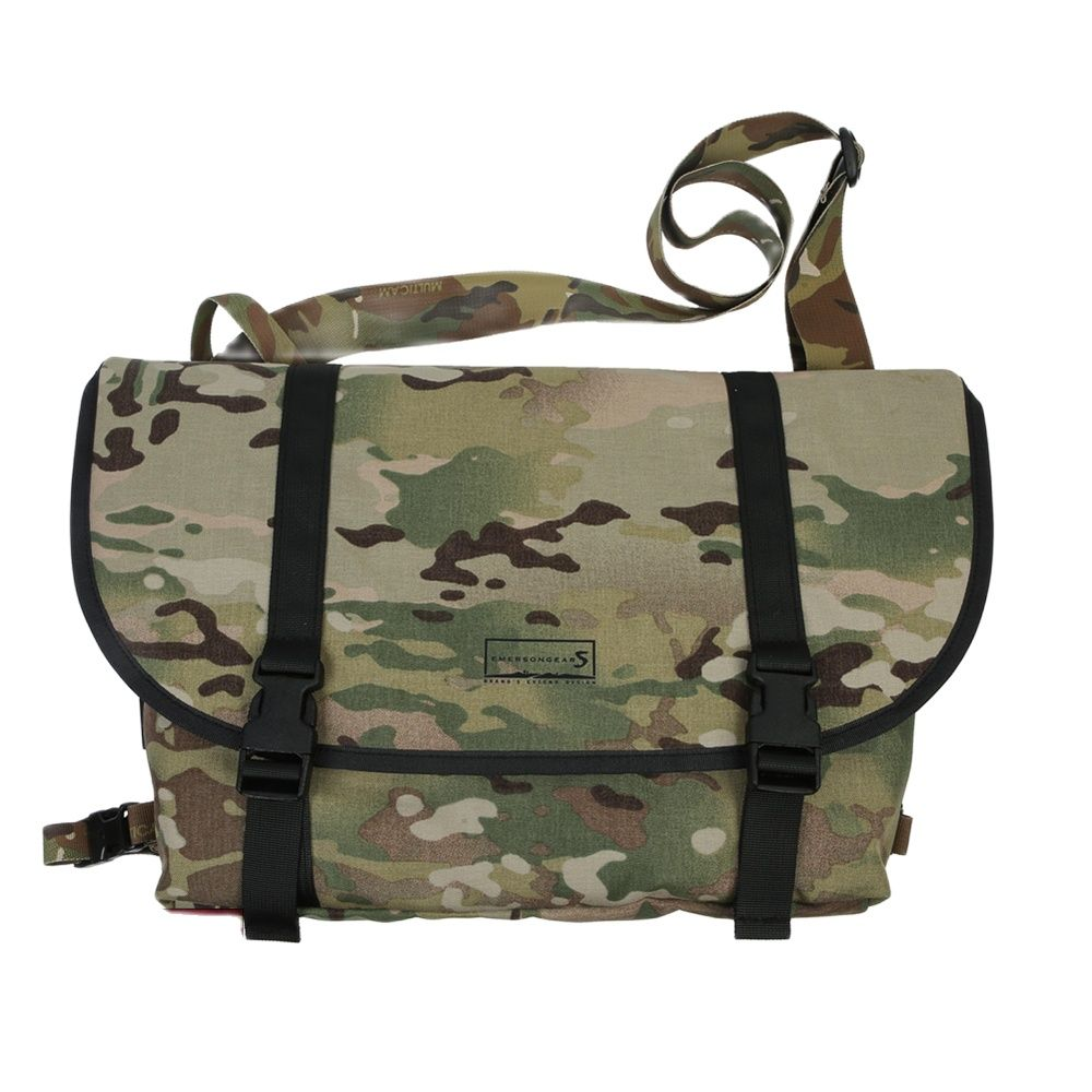 Emersongear Mens Bag Tactical Style Messenger Bag Multicam Waterproof Outdoor Sports Hiking Travelling Student Youth Bag EMS5759