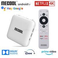 ТВ-приставка Mecool KM2 для Netflix 4K Android Amlogic S905X2 2 Гб DDR4 USB3.0 SPDIF Ethernet WiFi Prime Video HDR 10 Widevine L1