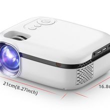 New Tech 5G WiFi Mini Projector TD92 Native 720P Smart Phone Projector 1080P Video 3D Home Theater P