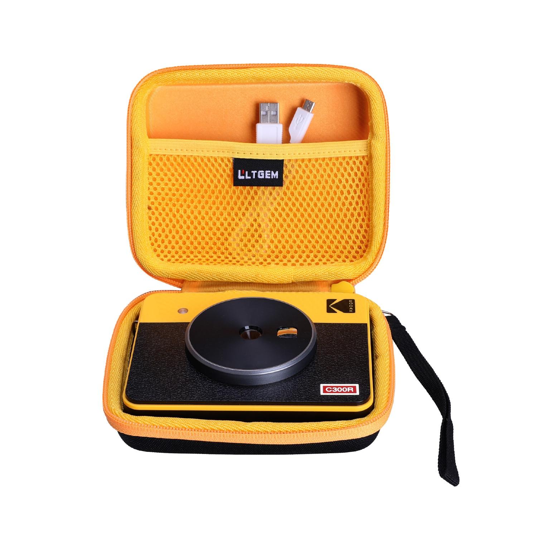 LTGEM EVA Hard Case for Kodak Mini Shot 3 Retro Mini Shot 3 Squre/Mini Shot 3 Instant Camera & Photo