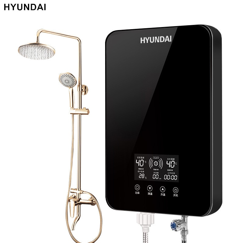HYUNDAI SL-A1-80 Instant Electric Water Heater Home Intelligent Constant Temperature and Rapid Heati