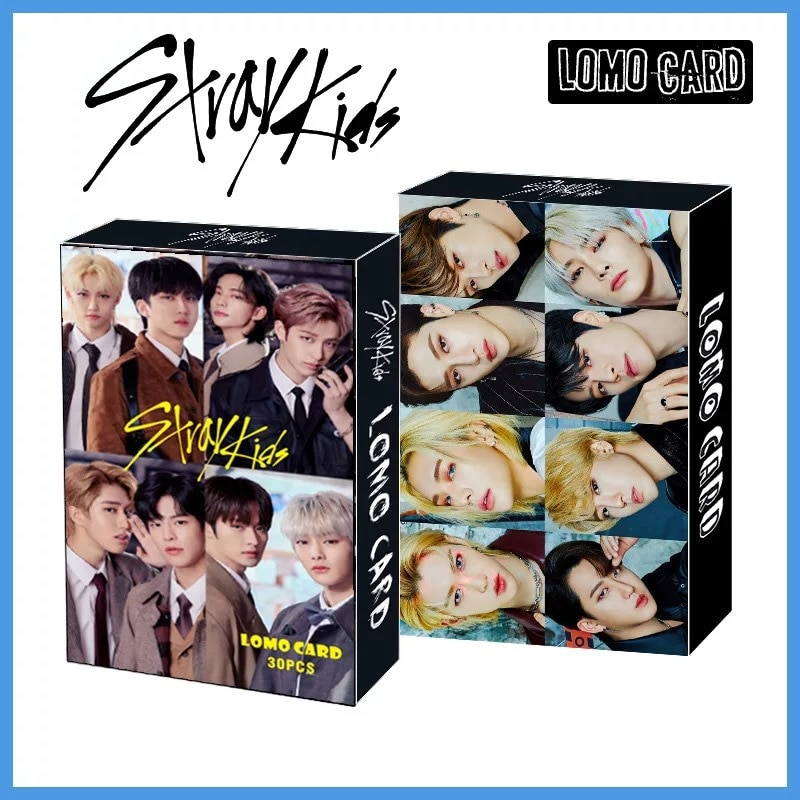 Kpop Stray Kids 30 шт./компл. Lomo Card Hd фото печать альбом Photocard для фанатов подарки новое поступление