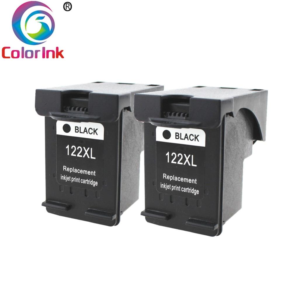 ColoInk 122XL reemplazo para hp cartucho 122 xl para Deskjet serie 1510, 2050, 1000, 1050 1050A 2000 2050A 2540, 3000 de 3050 3052A impresora