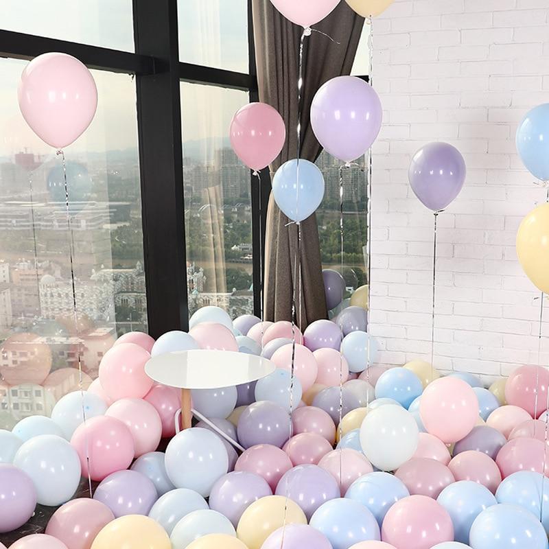 30 Stuks Verjaardag Ballonnen 10 Inch 2.2G Latex Helium Ballon Verdikking Parel Ballon Partij Ball Kid Kind Speelgoed wedding Ballons