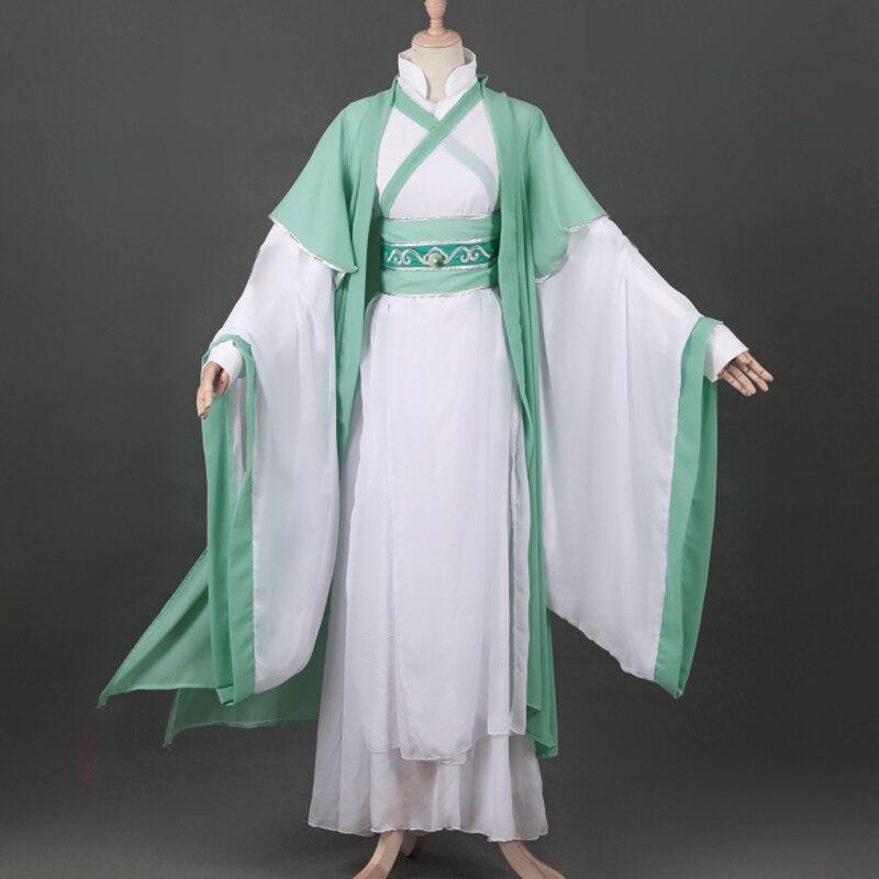 2020 nueva China Antigua Hanfu Anime Shen Yuan Cosplay disfraz Shen Qingqiu fiesta Cosplay disfraces de Halloween para hombres y mujeres adultos
