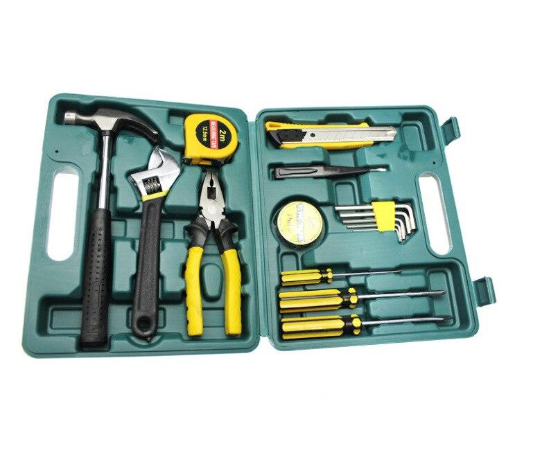 Набор инструментов для ремонта автомобиля из 16 предметов, набор инструментов для дома, набор инструментов, портативный набор инструментов, ...