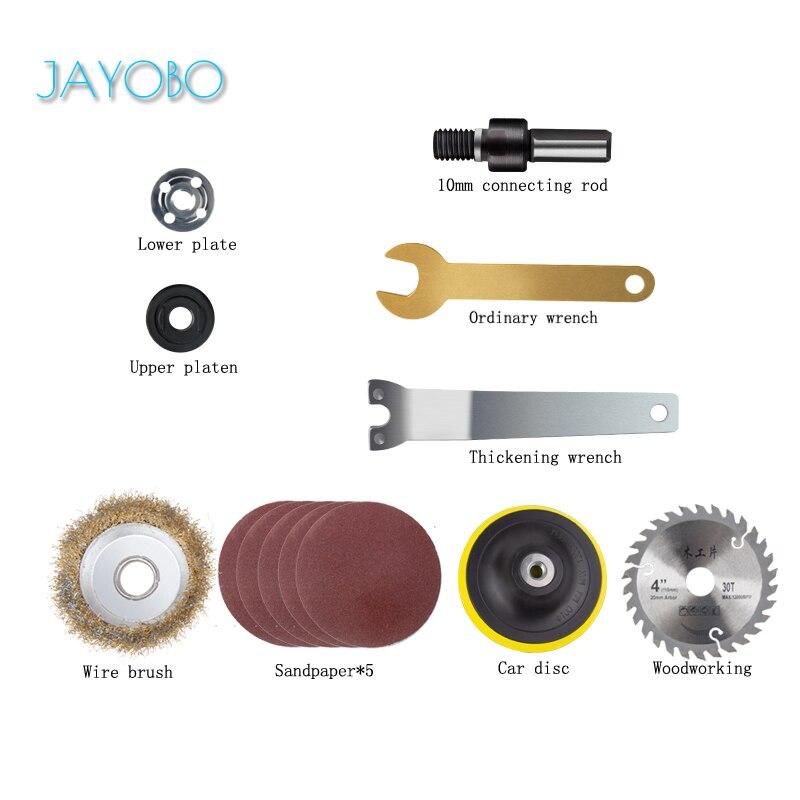 JAYOBO-Placa de sierra Universal para conectar piezas de conjunto de varillas de...