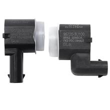Novel-2 Pcs Parking Sensor Bumper Reverse Assist for Hyundai Kia, 1 Pcs OE:4MT271H7A 95720-3U000 & 1 Pcs OE:4Ms271H7C 957203U100
