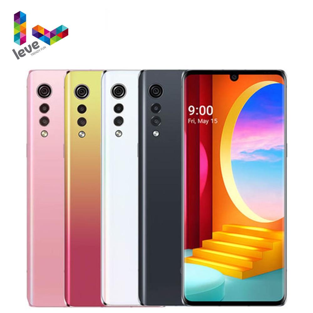 LG бархат 5G Корейская версия G900N разблокирован мобильный телефон 6,8 дюйм 8GB Оперативная память 128 Гб Встроенная память 48MP Octa Core 1SIM NFC Android-смартфон